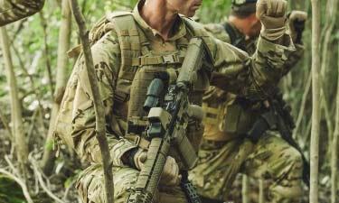 Military header image