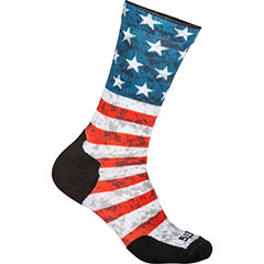 Sock & Awe Crew American Flag