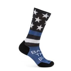 Sock & Awe Crew Back The Blue Flag