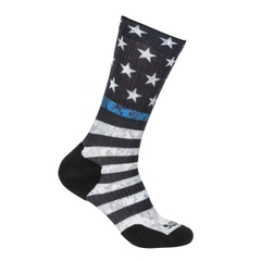 Sock & Awe Thin Blue Line