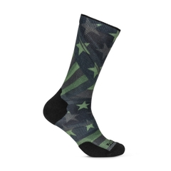 Sock & Awe Patriotic Folds Green