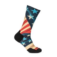 Sock & Awe Patriotic Fold Red White Blue