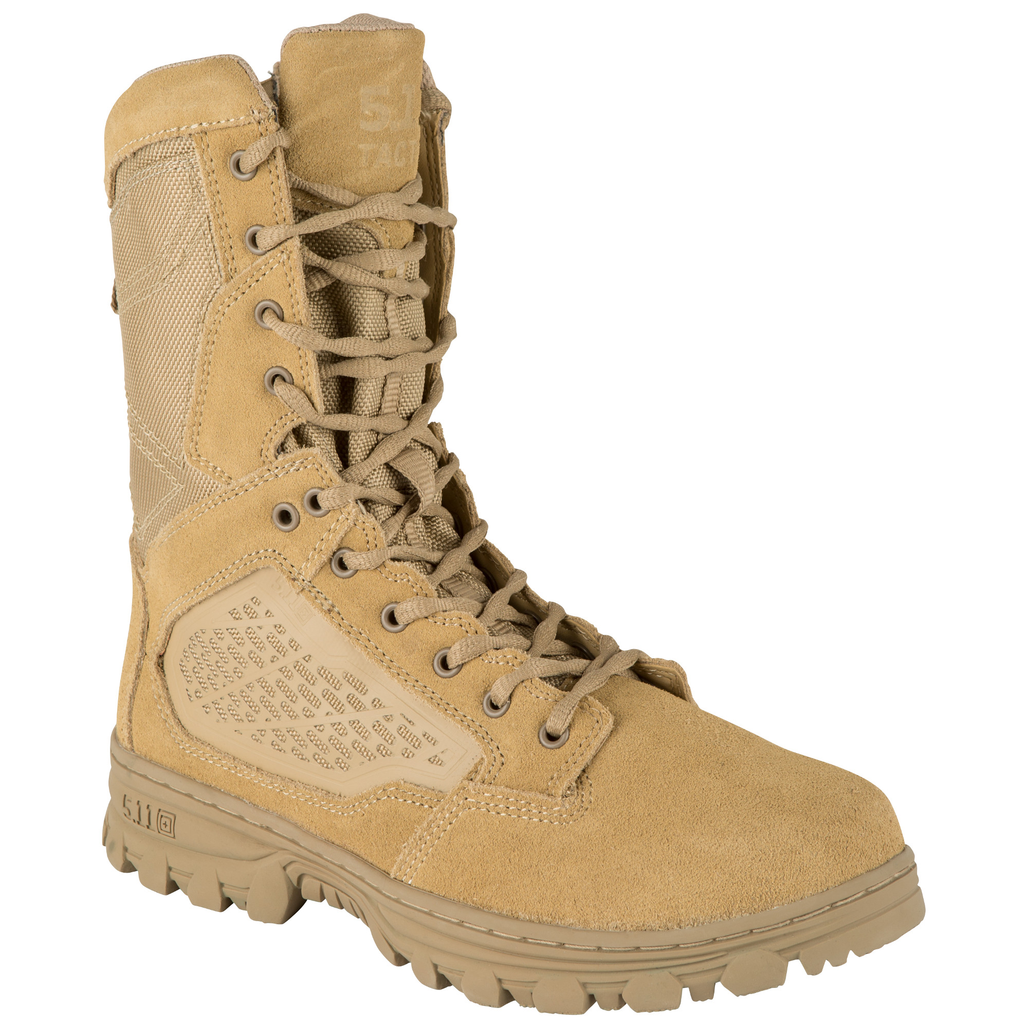 5.11 Tactical Men EVO 8 Desert Side Zip Boot (Khaki/Tan) thumbnail