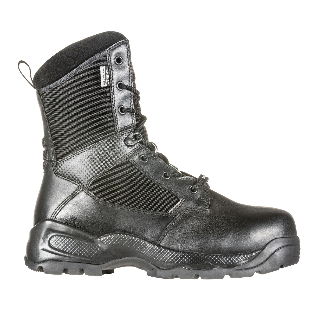 5.11 Mens XPRT 3.0 Waterproof 6 Boot Fire and Safety Black 8 Medium US