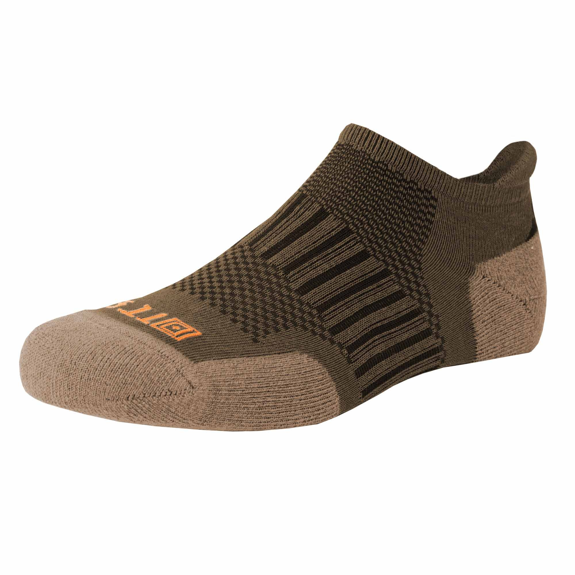 5.11 RECON® Ankle Sock from 5.11 Tactical (Brown;Khaki/Tan;Multi)