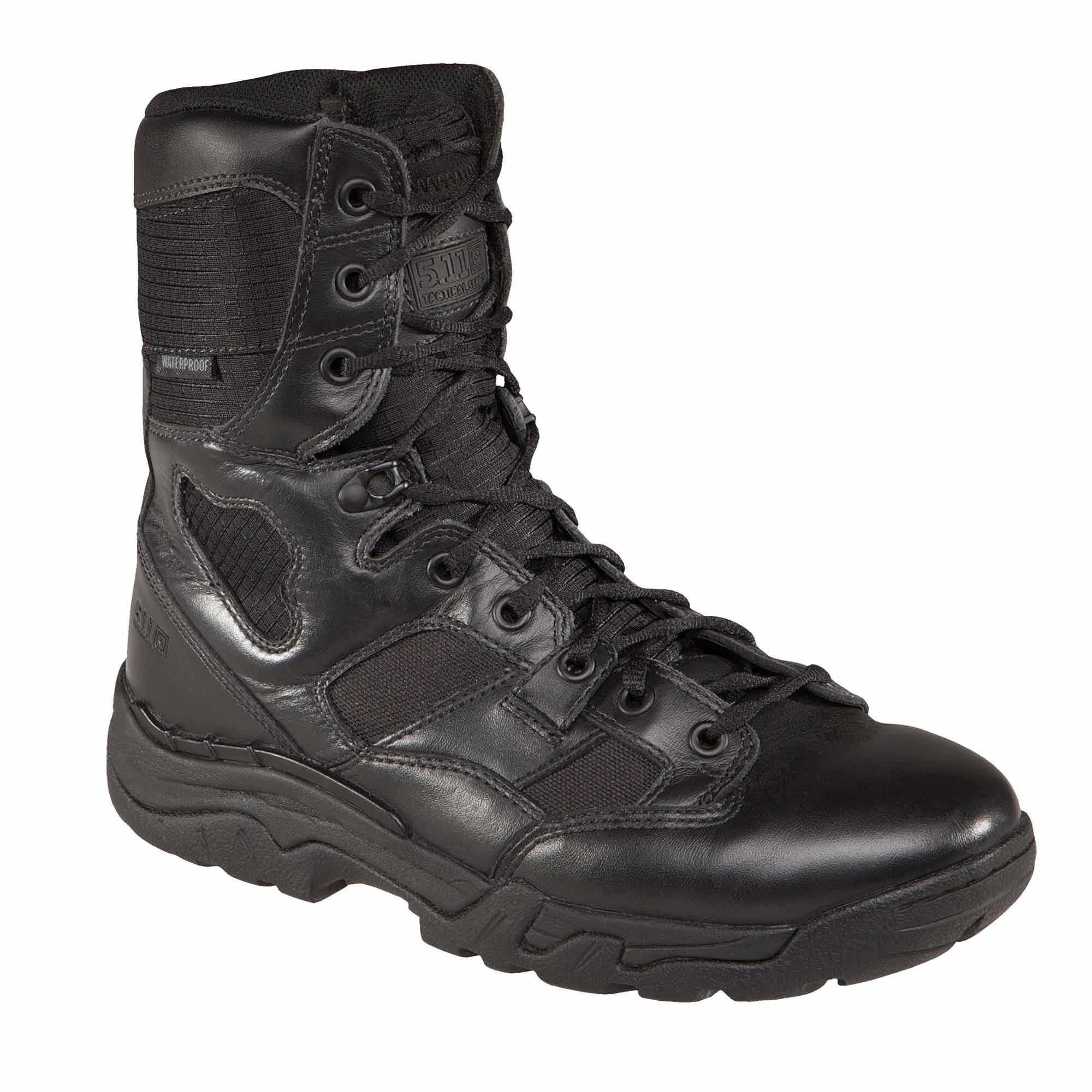 Men's Waterproof 5.11 Taclite 8 Boot from 5.11 Tactical (Black)