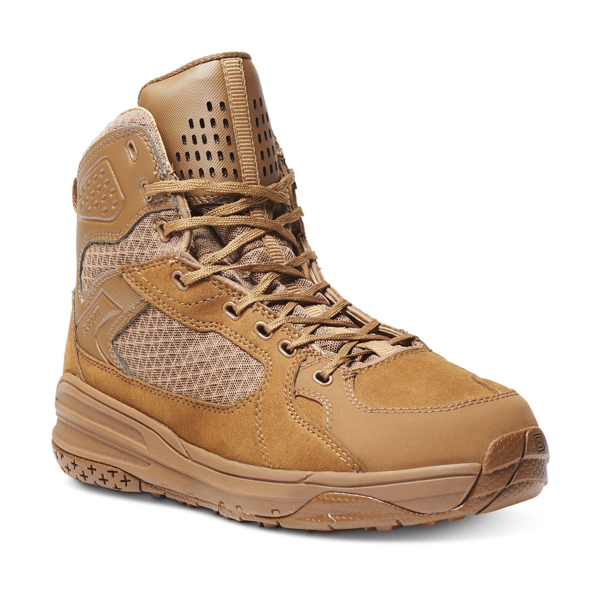 5.11 Tactical Men Halcyon Dark Coyote Tactical Boot (Khaki/Tan)