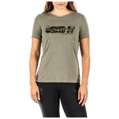 Womens Send It Camo Tee
