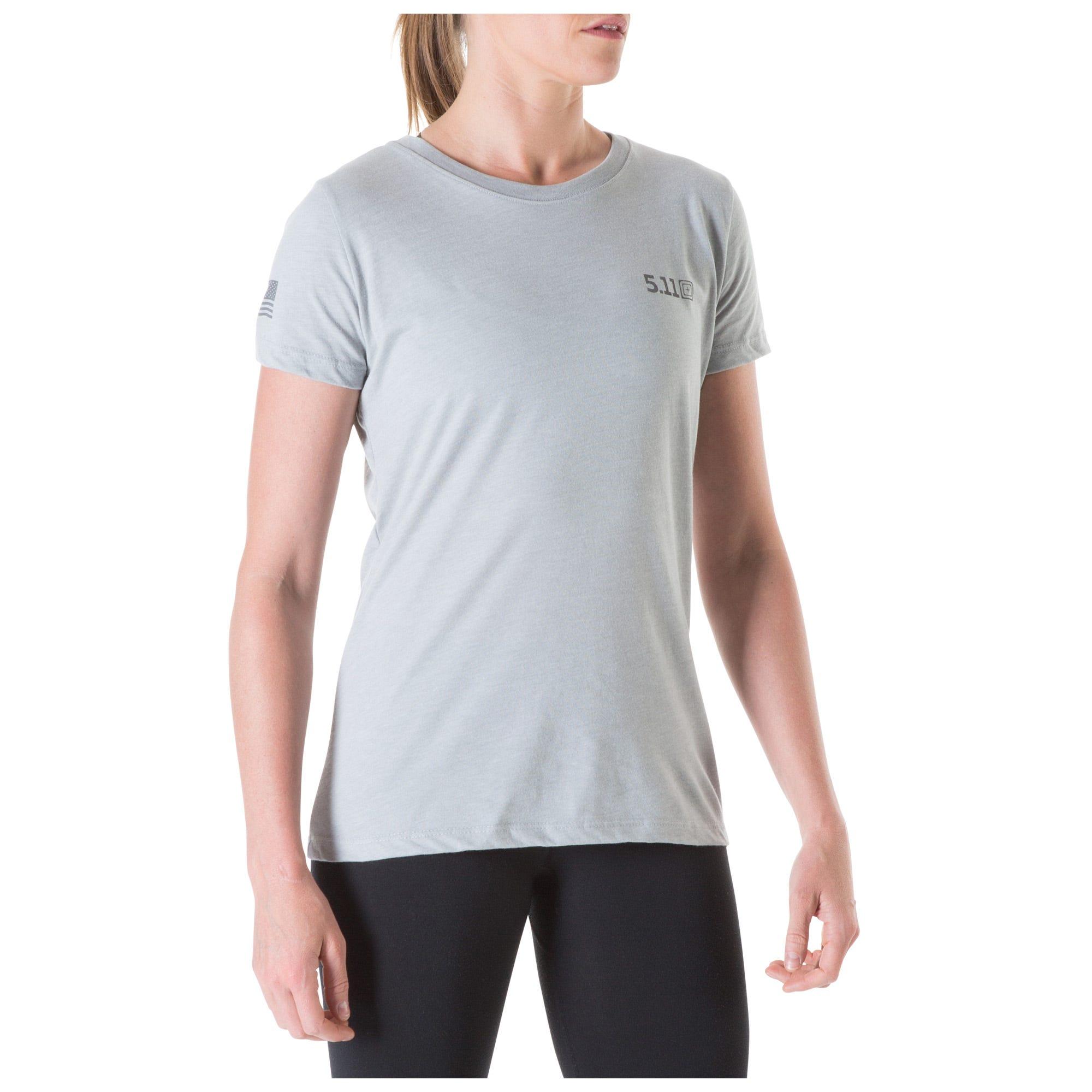 5.11 Tactical Women Women's Short Sleeve Performance Tee (Grey)