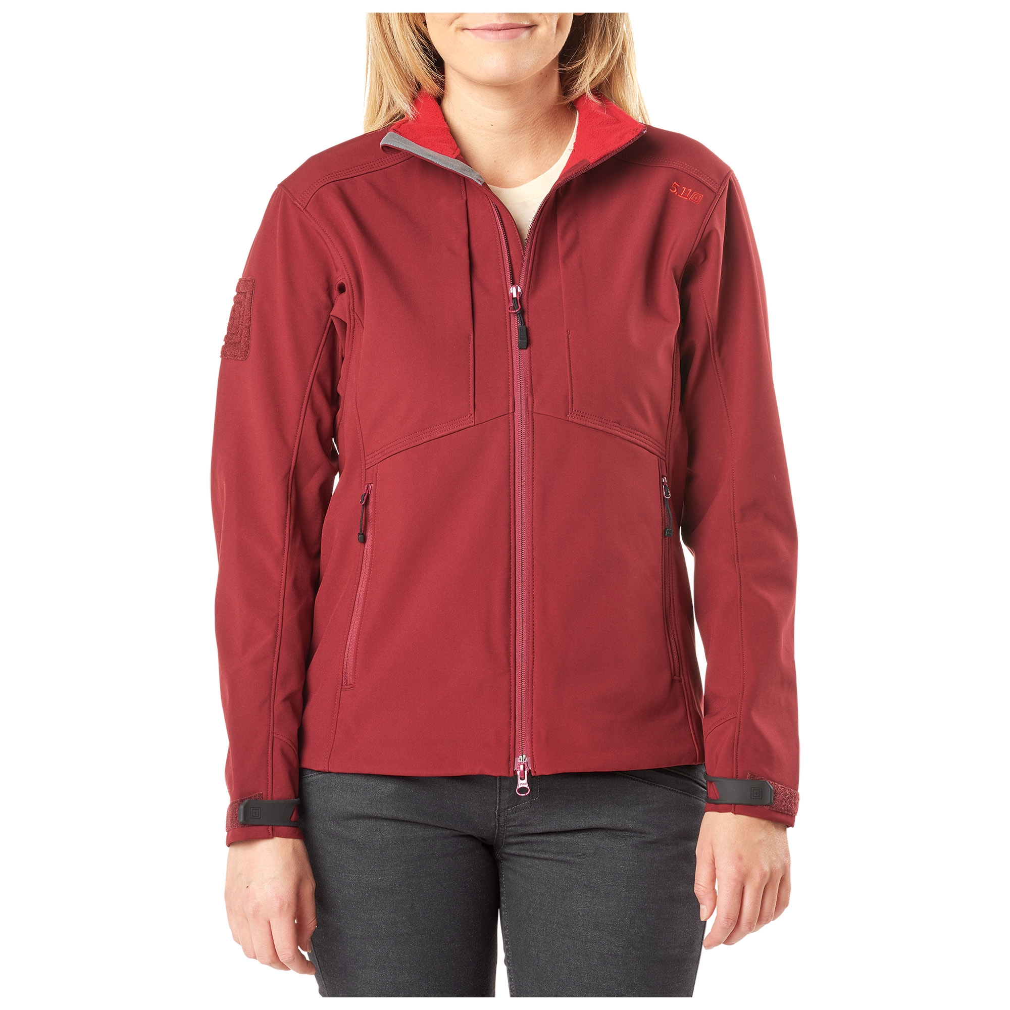 5.11 Tactical Women's Womens Sierra Softshell (Red)