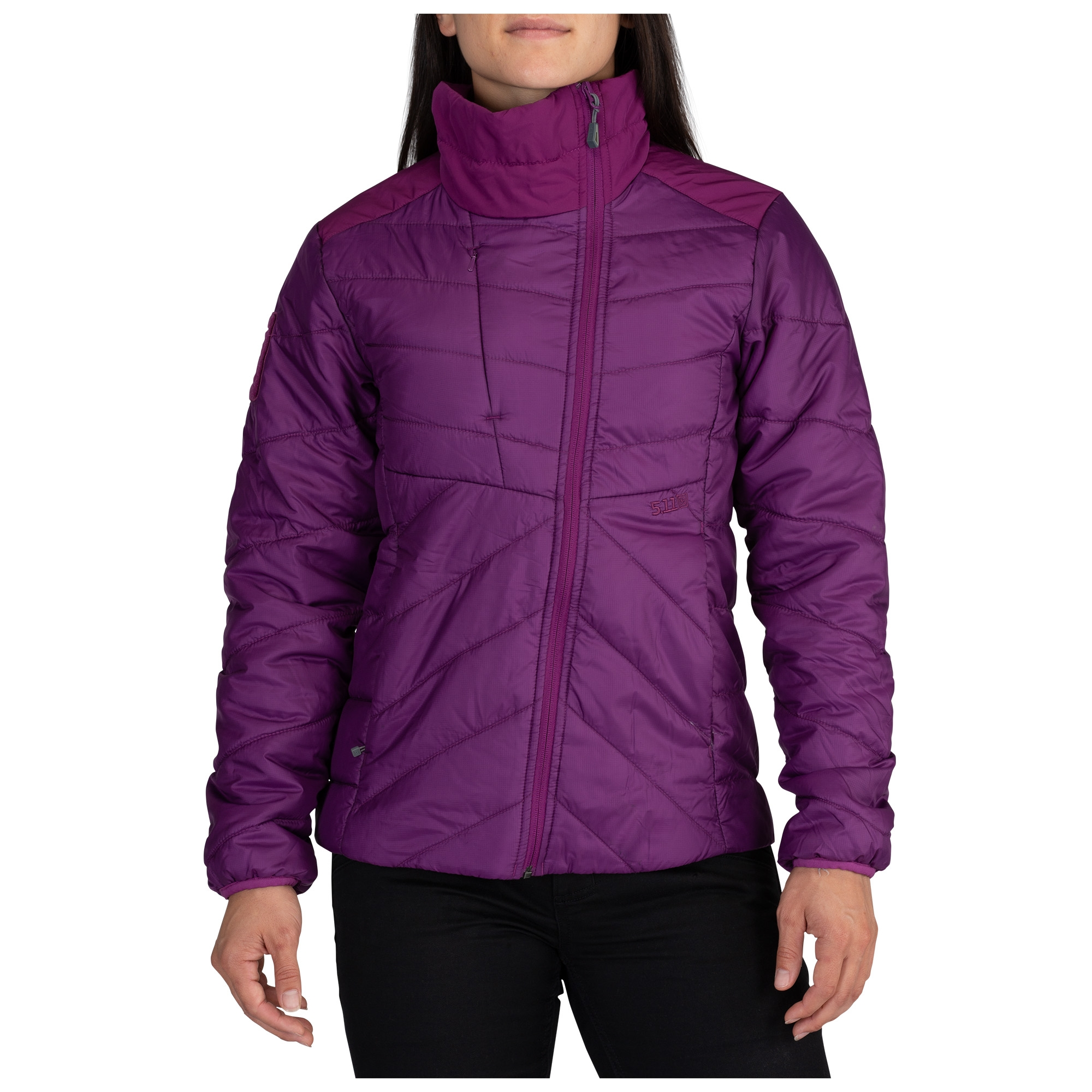 5.11 Tactical Women's Womens Peninsula Insulator Packable Jacket (Purple)