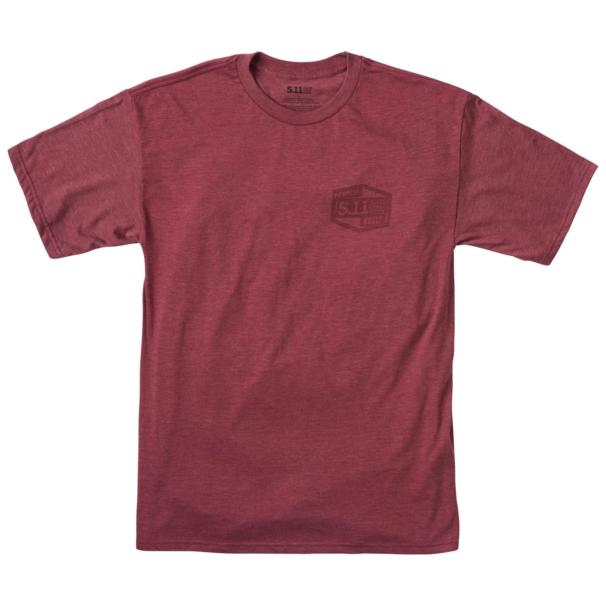 5.11 Tactical Men's Purpose Built Tee (Red)