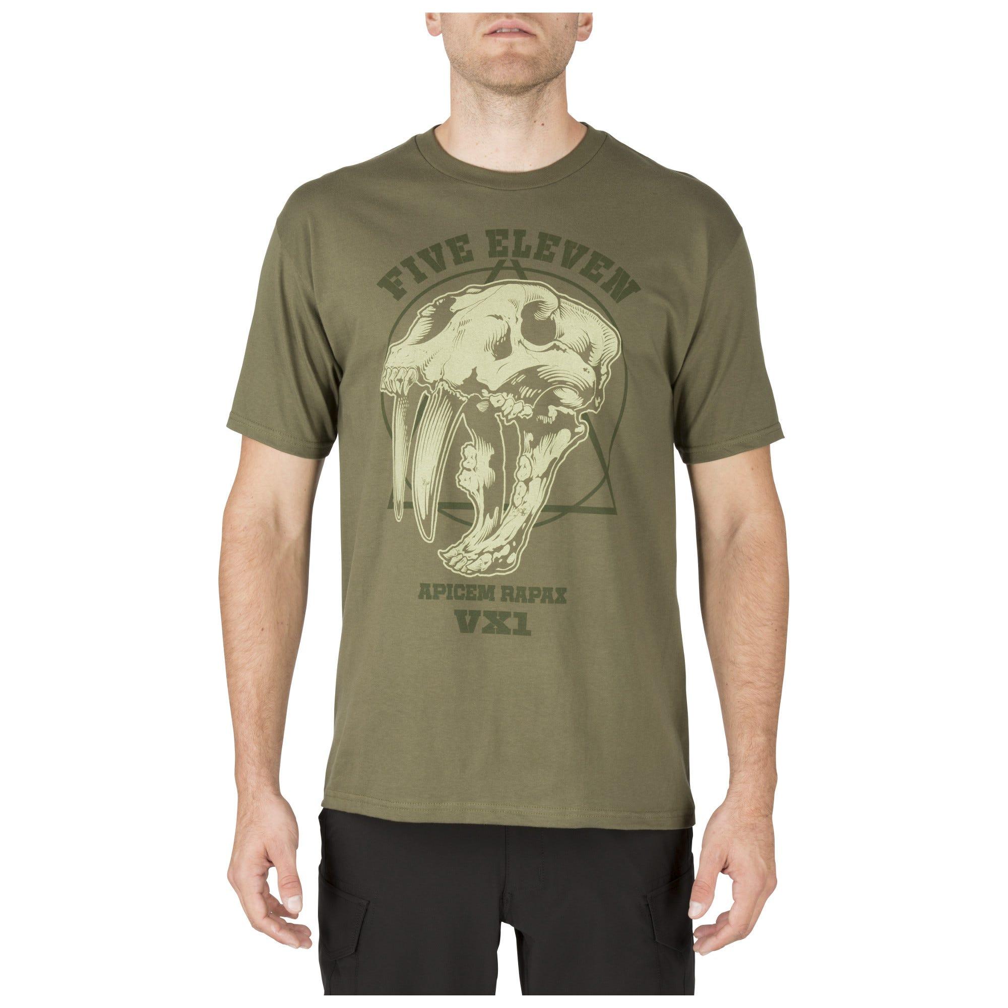 5.11 Tactical Men's Apex Predator Tee (Green)