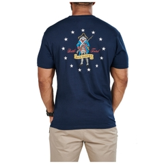 Continental Skeleton Solider Tee - Made in USA