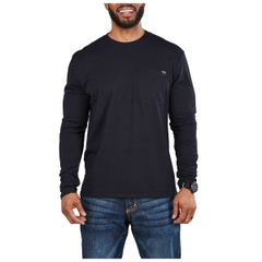 Elite Long Sleeve Pocket Tee