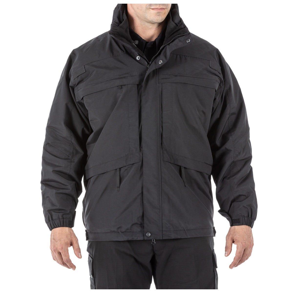 5.11 Tactical Men's 3-in-1 Parka Jacket™ (Black) thumbnail