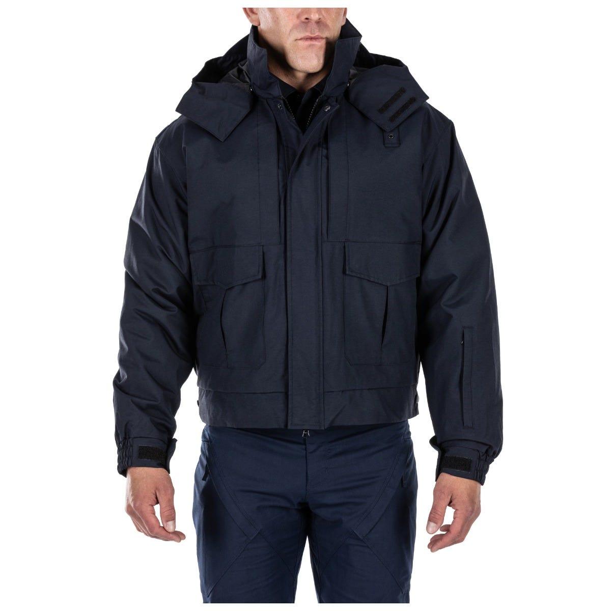 5.11 Tactical Men's 4-in-1 Patrol Jacket™ (Blue) thumbnail