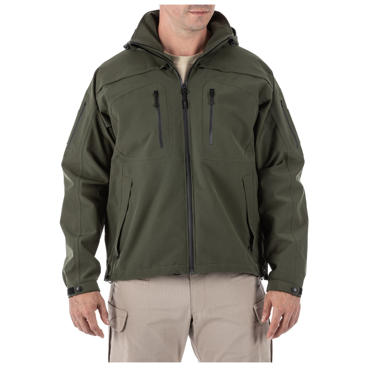 5.11 Tactical Men's Sabre Jacket 2.0 (Green), Size 3XL (CCW Concealed Carry)
