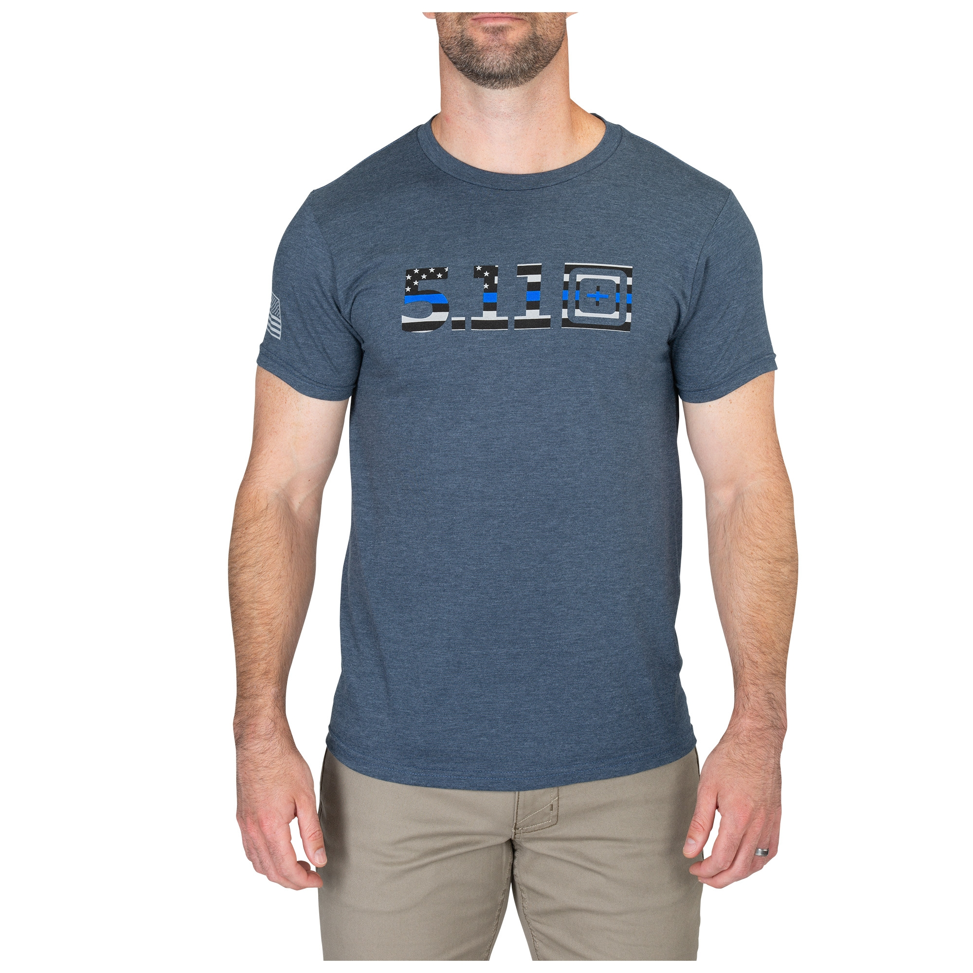24bb35f82 Legacy Blue Flag Fill Tee - 2 for $30 - 5.11 Tactical
