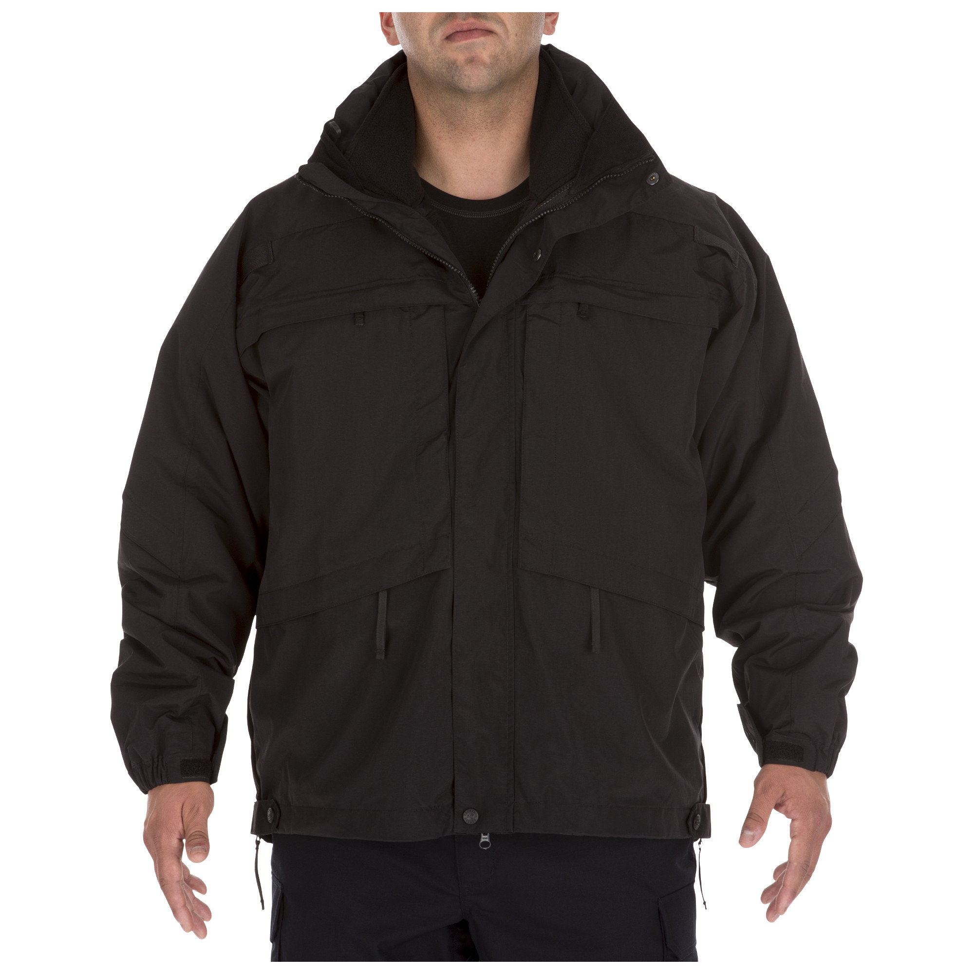 5.11 Tactical Men's 3-in-1 Parka Jacket™ (Black) thumbnail