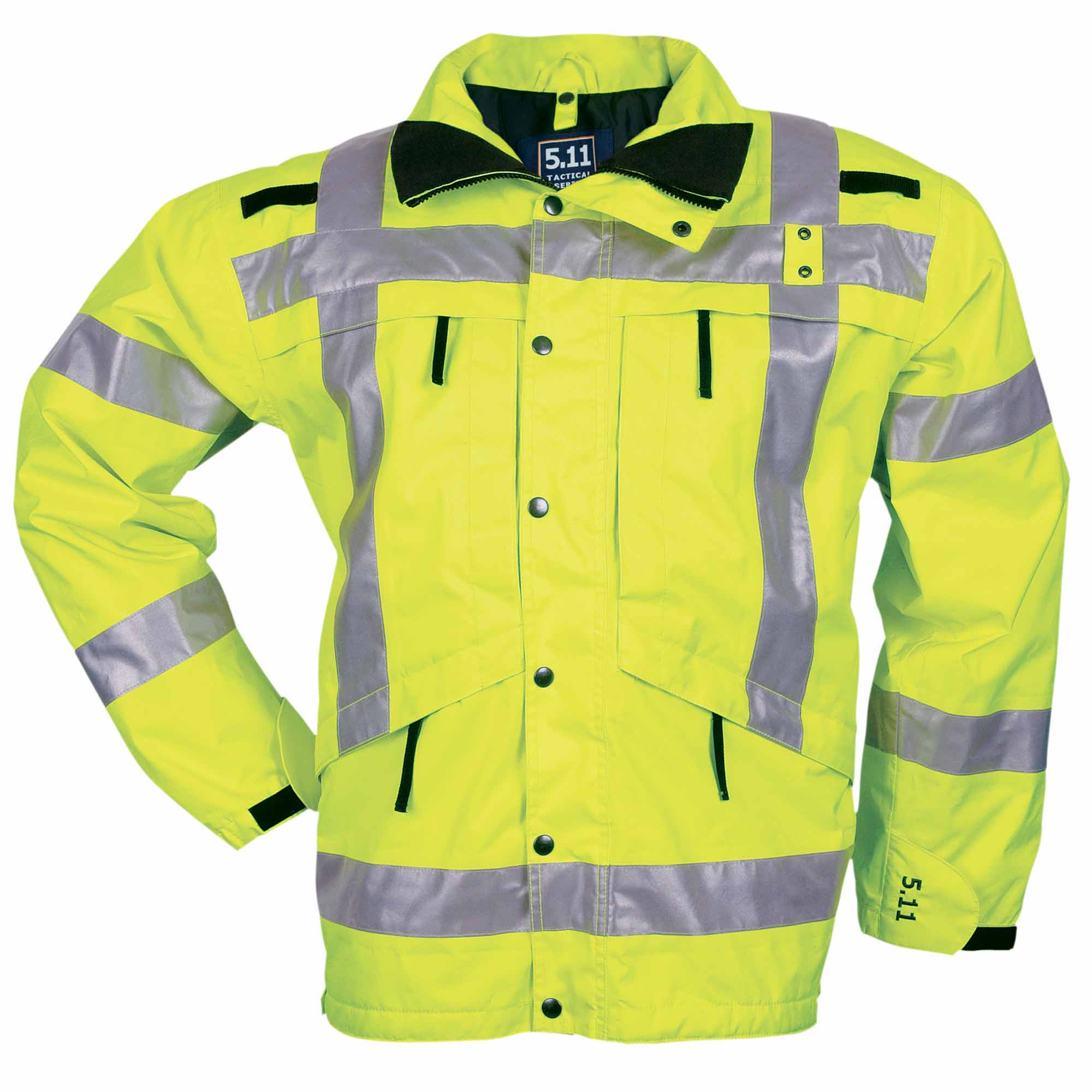 5.11 Tactical Men's High-Visibility Parka Jacket (Yellow)