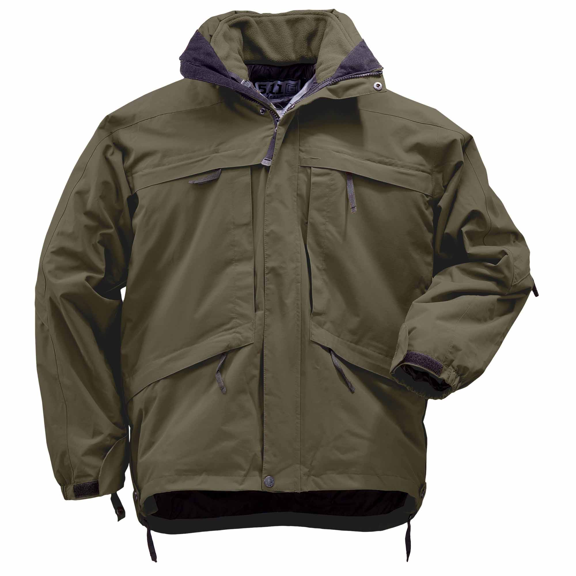 5.11 Tactical Men's Aggressor Parka Jacket™ (Green) thumbnail