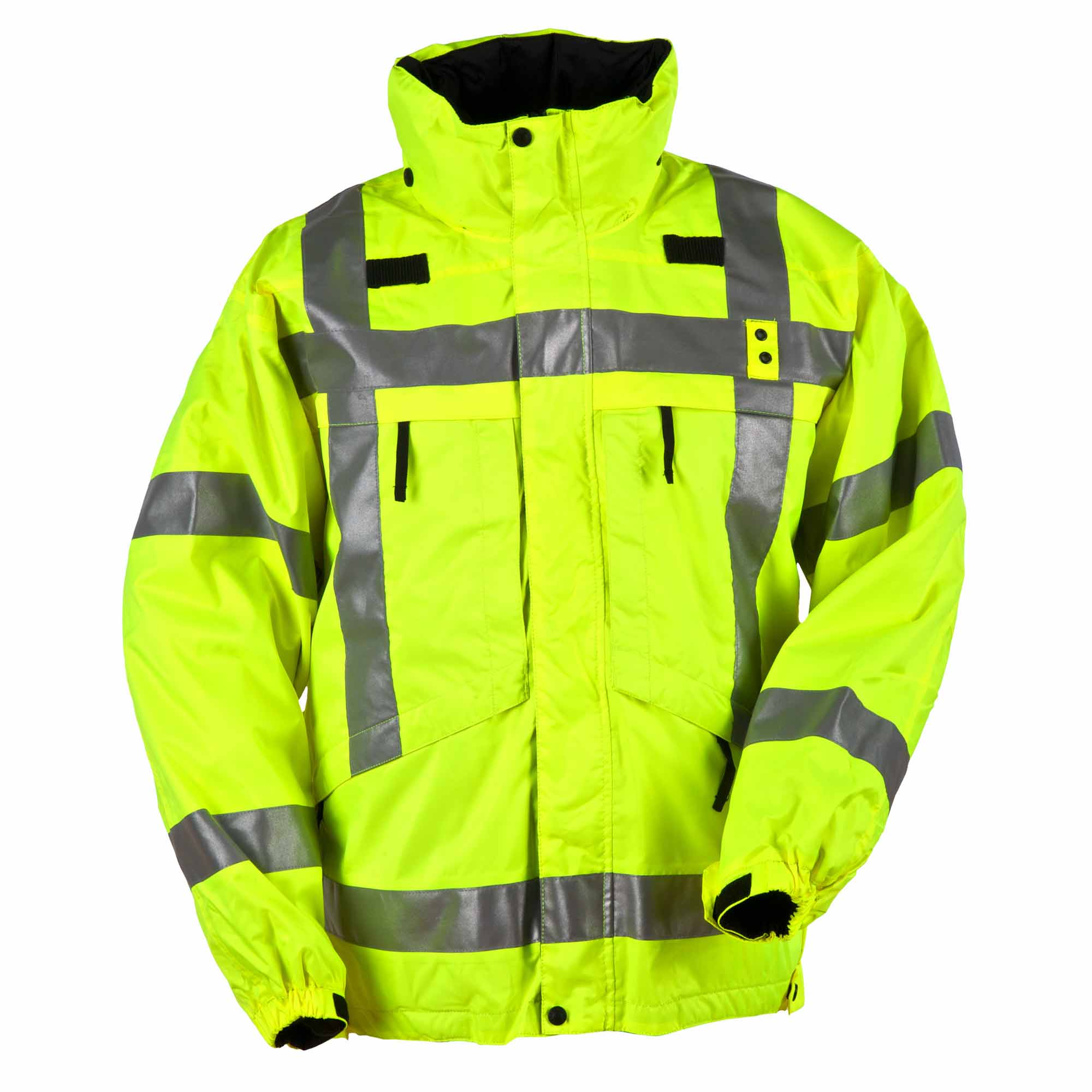 5.11 Tactical Men's 3-in-1 Reversible High-Visibility Parka Jacket (Yellow) thumbnail