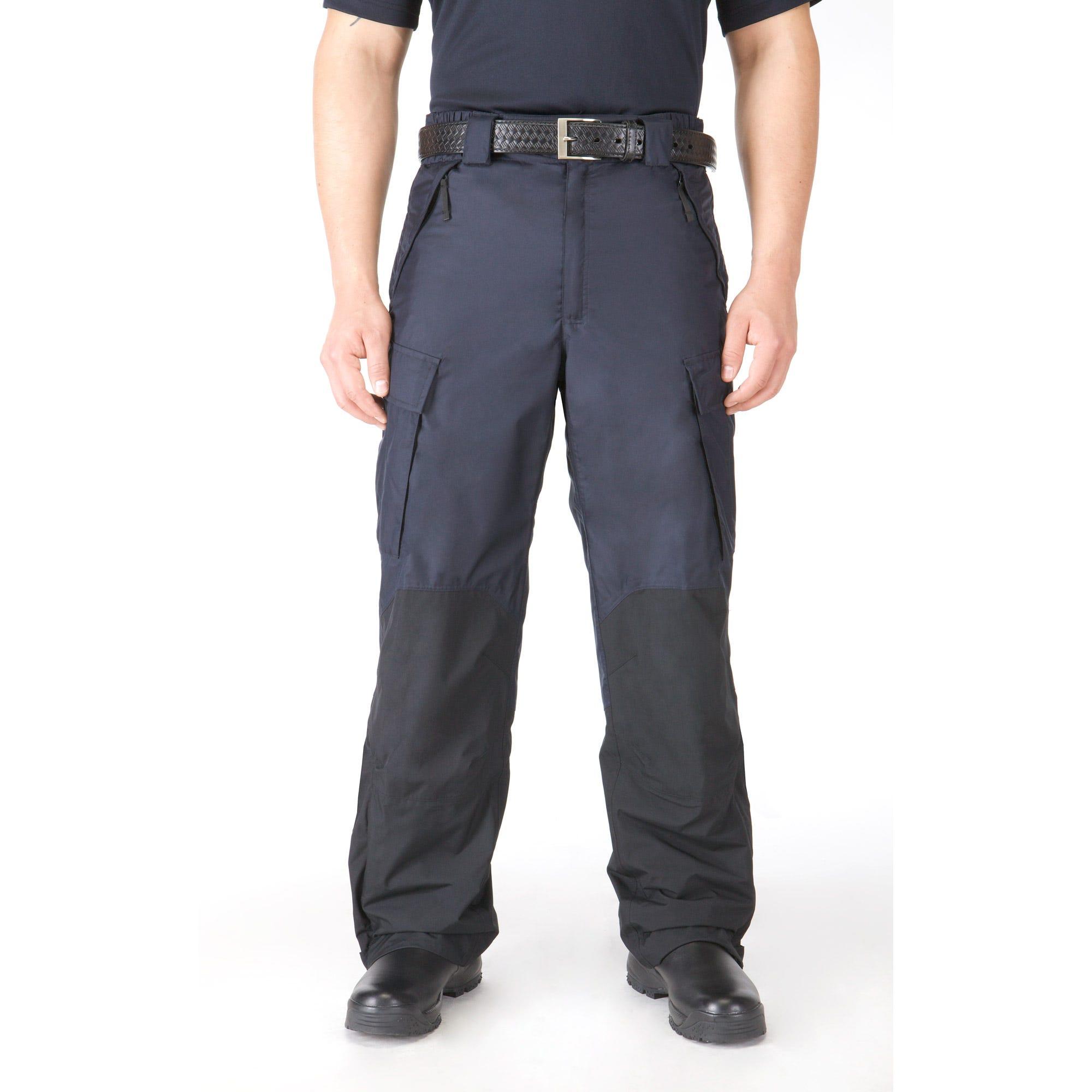 5.11 Tactical Men's Patrol Rain Pant (Blue)