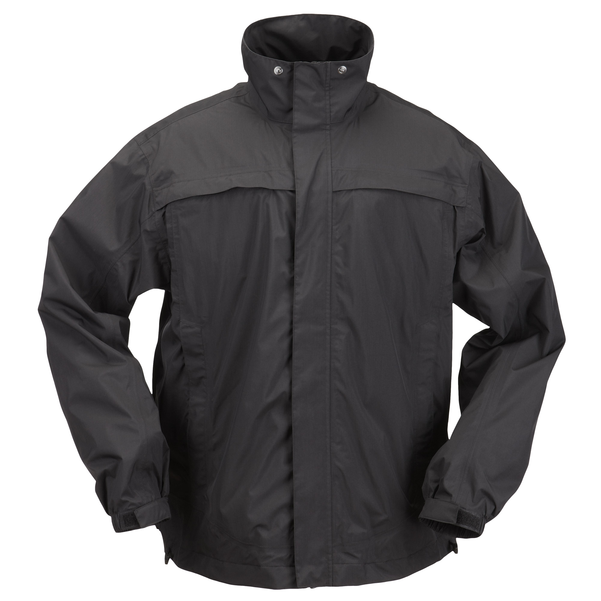 5.11 Tactical Men's TAC DRY Rain Shell (Black)