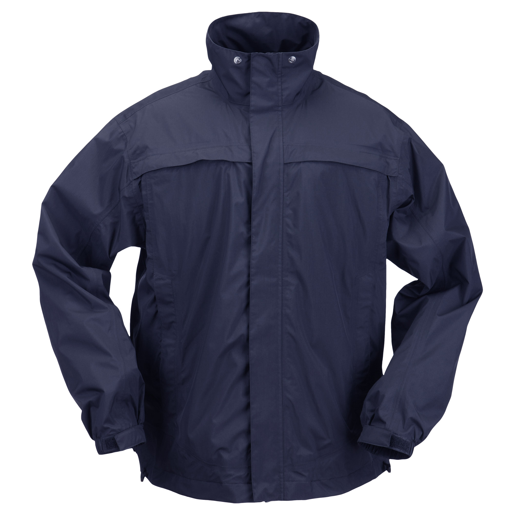 5.11 Tactical Men's TAC DRY Rain Shell (Blue)