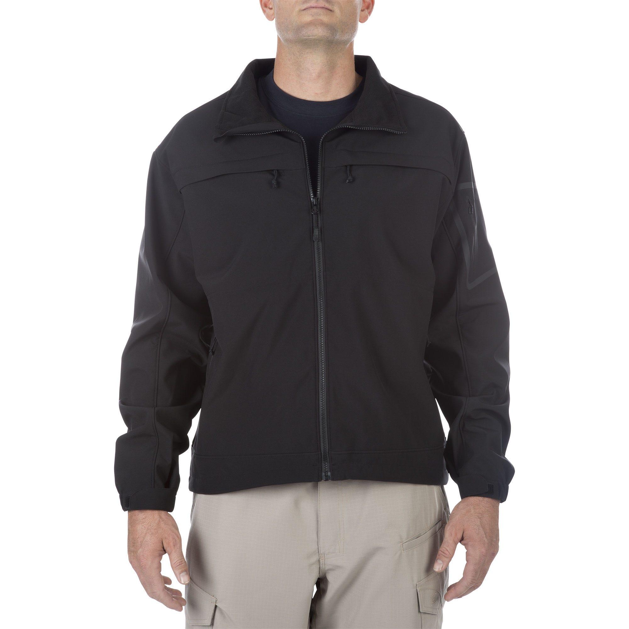 5.11 Tactical Men's Chameleon Softshell Jacket (Black)