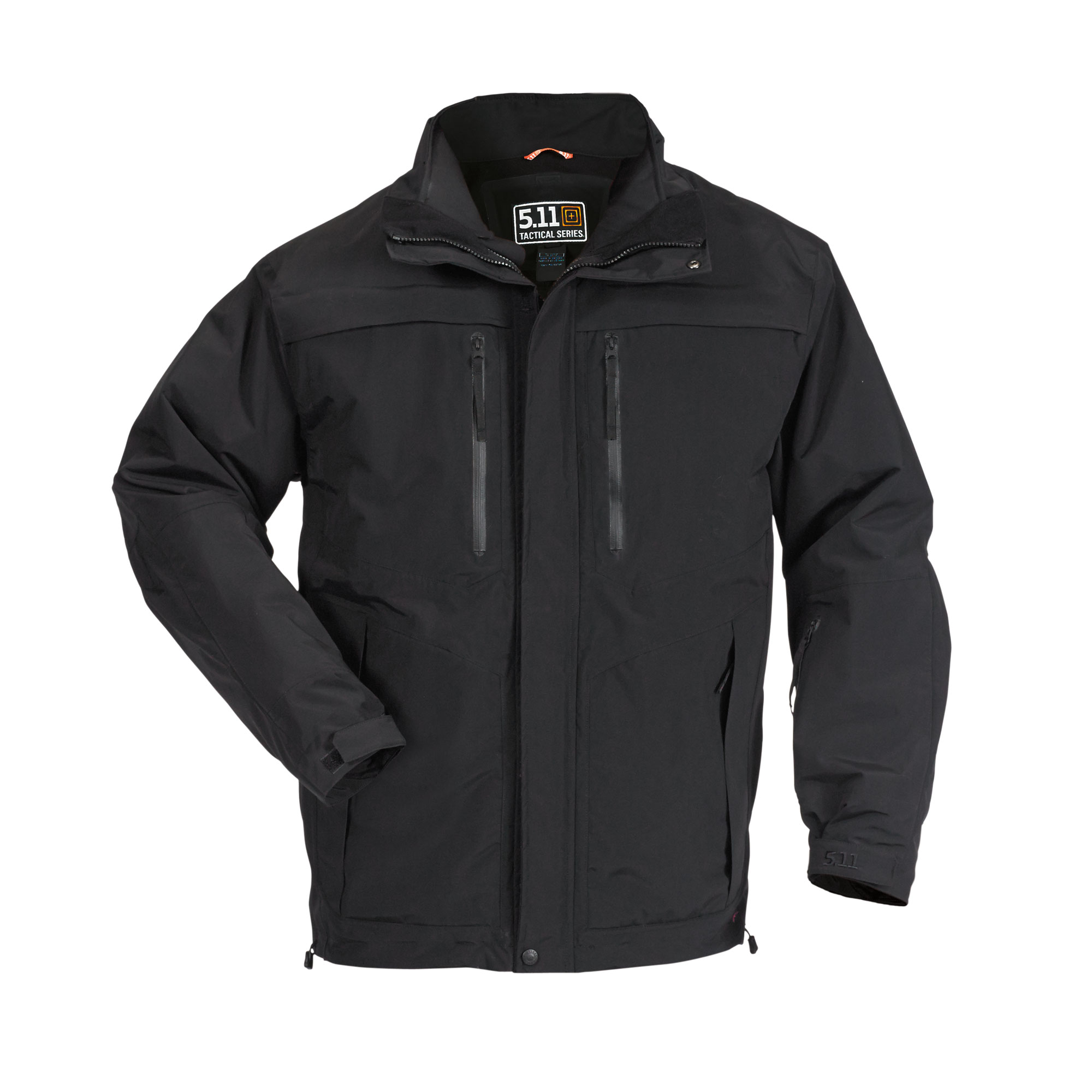 5.11 Tactical Men's Bristol Parka Jacket (Black) thumbnail