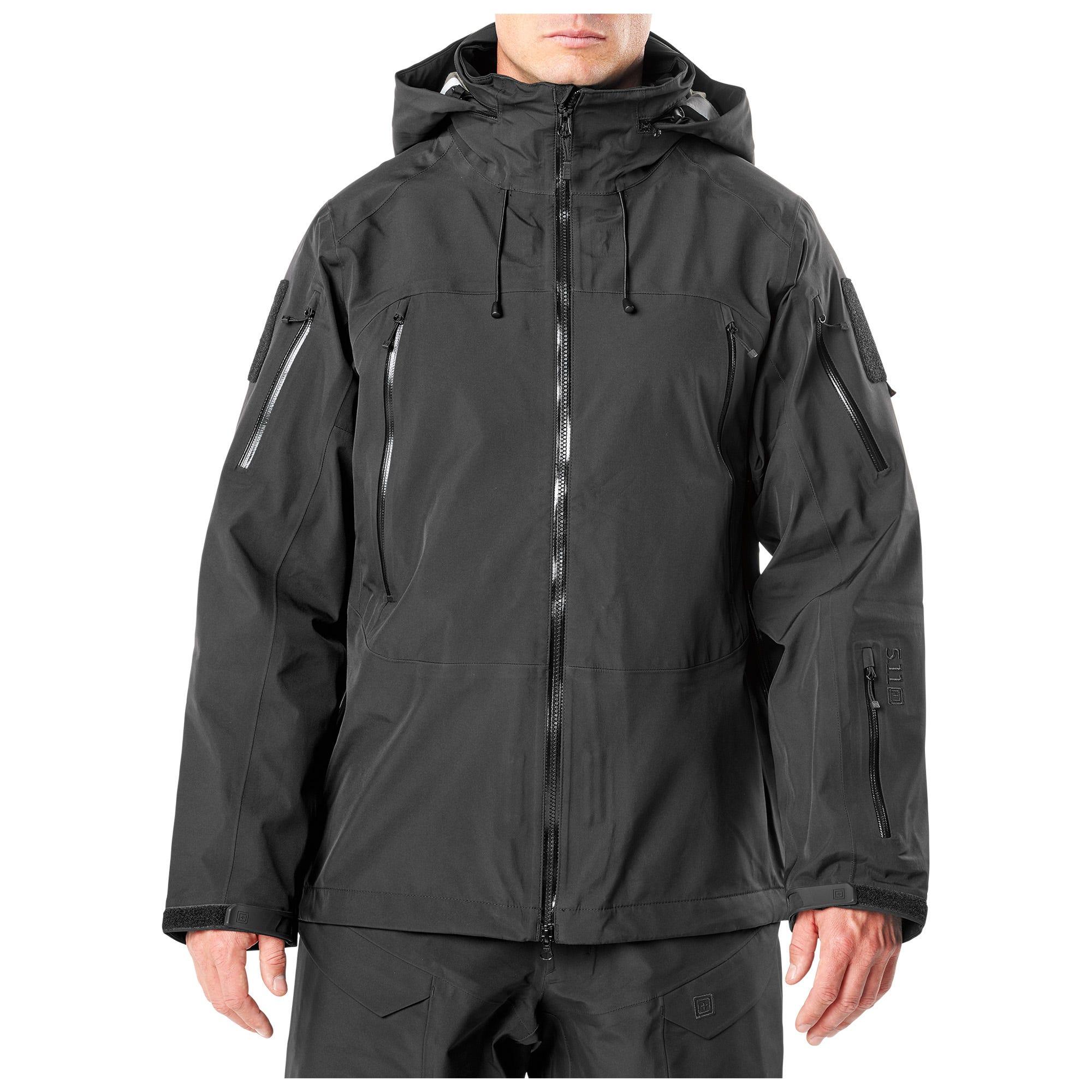 5.11 Tactical Men's XPRT Waterproof Jacket (Black)