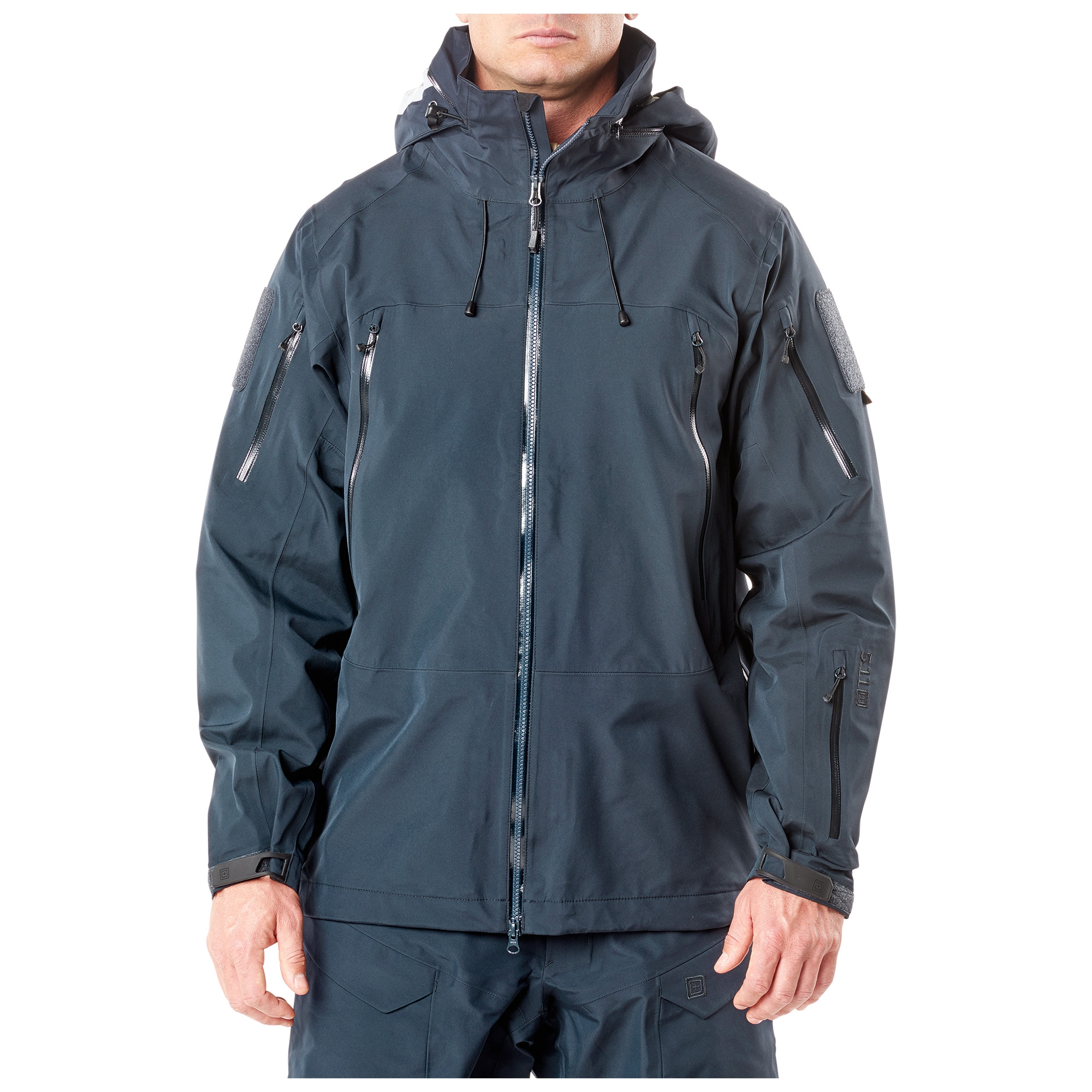 5.11 Tactical Men's XPRT Waterproof Jacket (Blue)