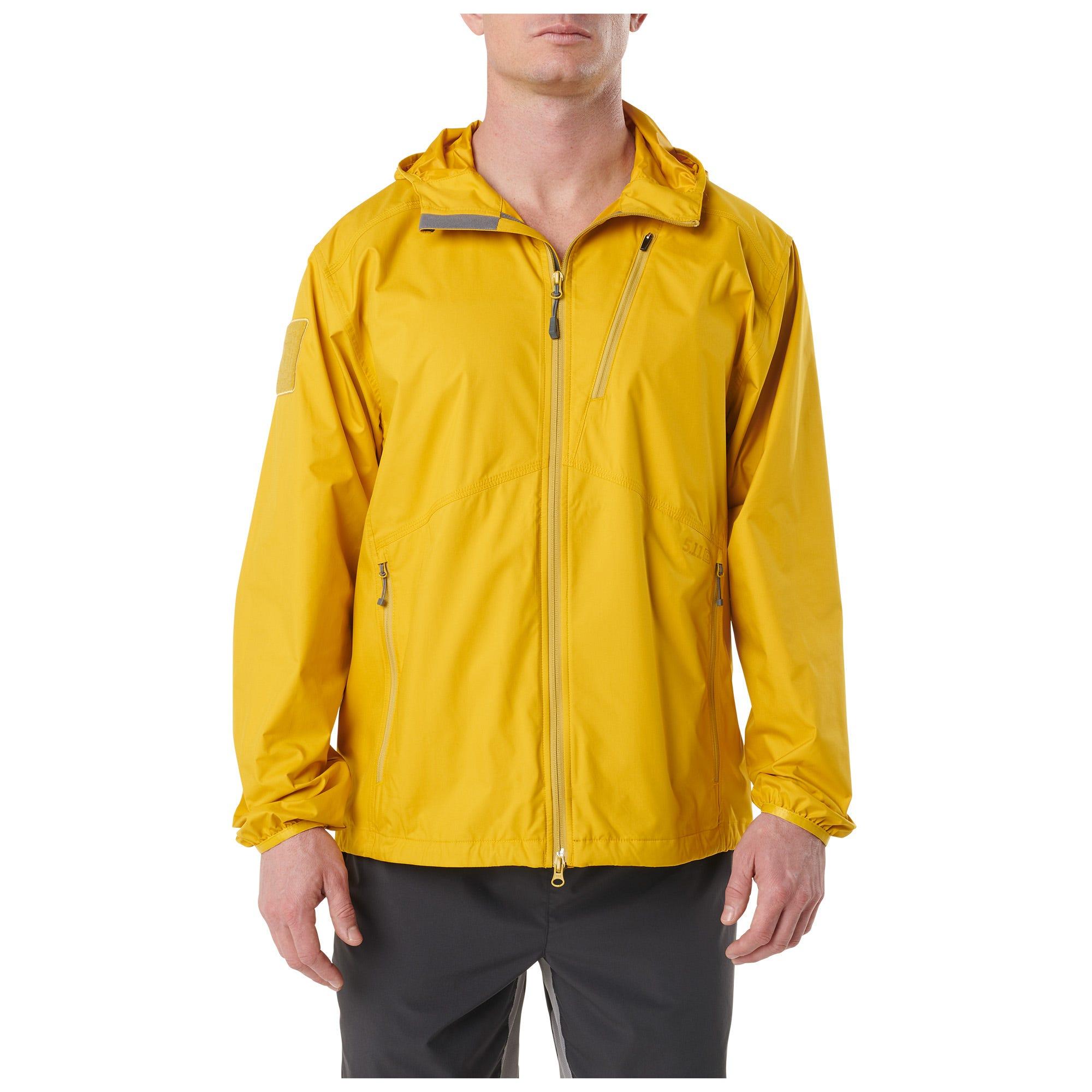 5.11 Tactical Men's Cascadia Windbreaker Packable Jacket (Green)