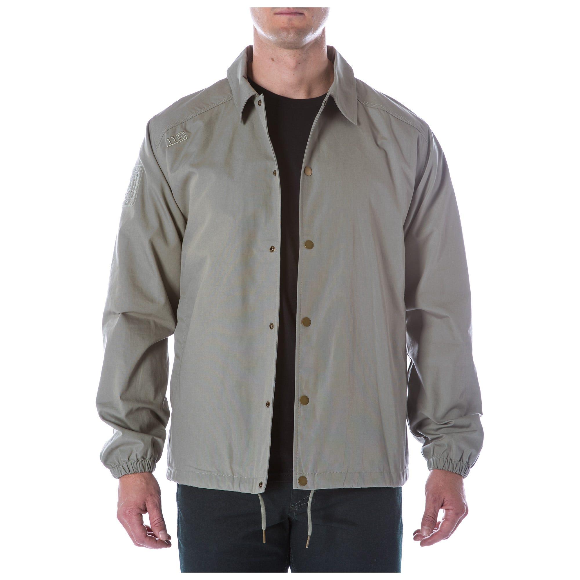 5.11 Tactical Men's Crest Coaches Jacket (Grey)