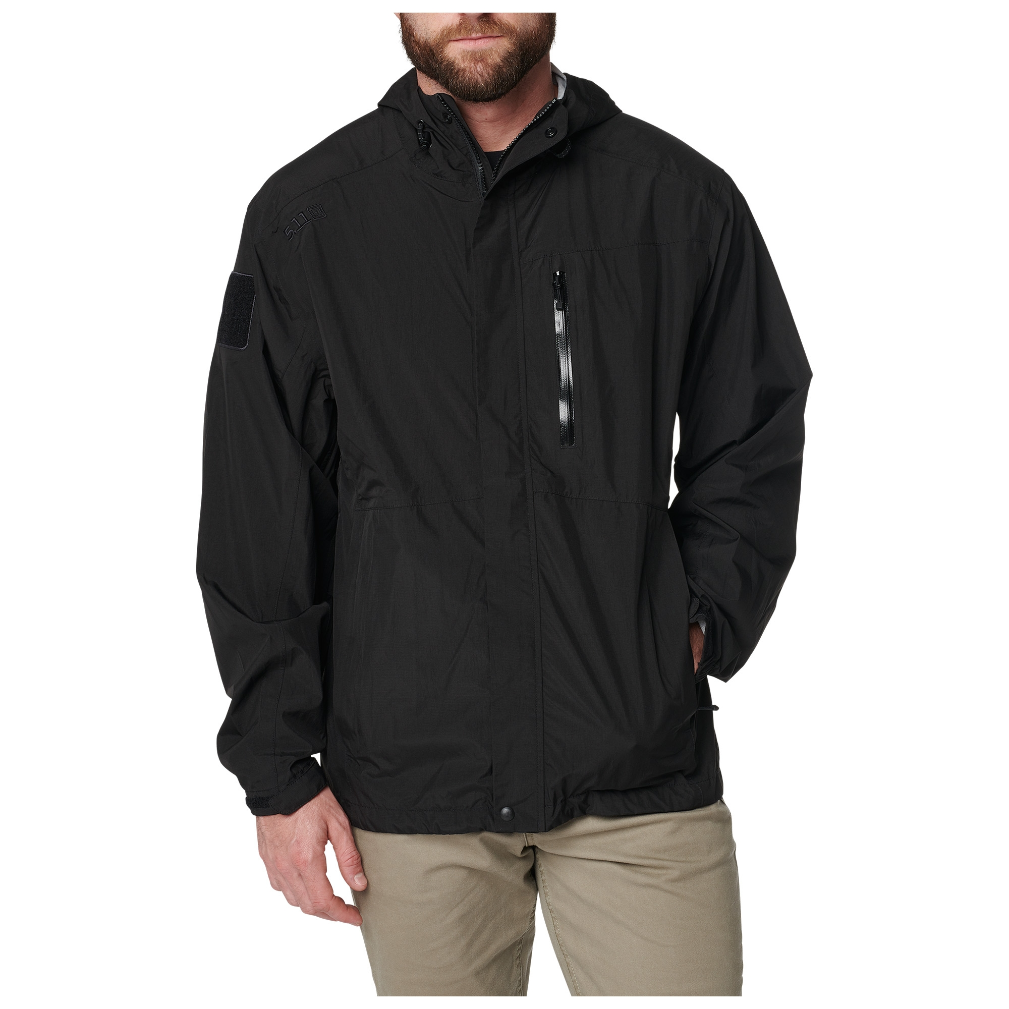5.11 Tactical Men's Aurora Shell Jacket (Black)