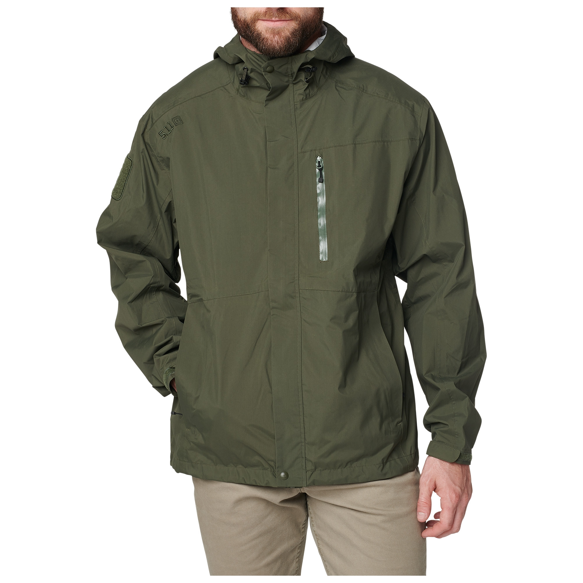 5.11 Tactical Men's Aurora Shell Jacket (Green)
