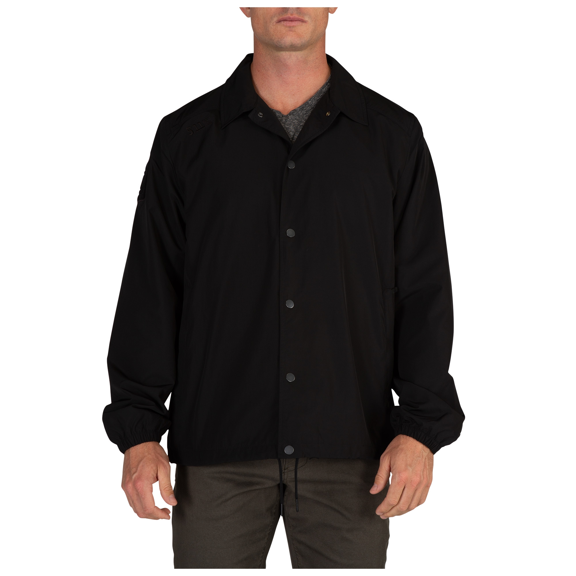 5.11 Tactical Men's Raghorn Coaches Jacket (Black)