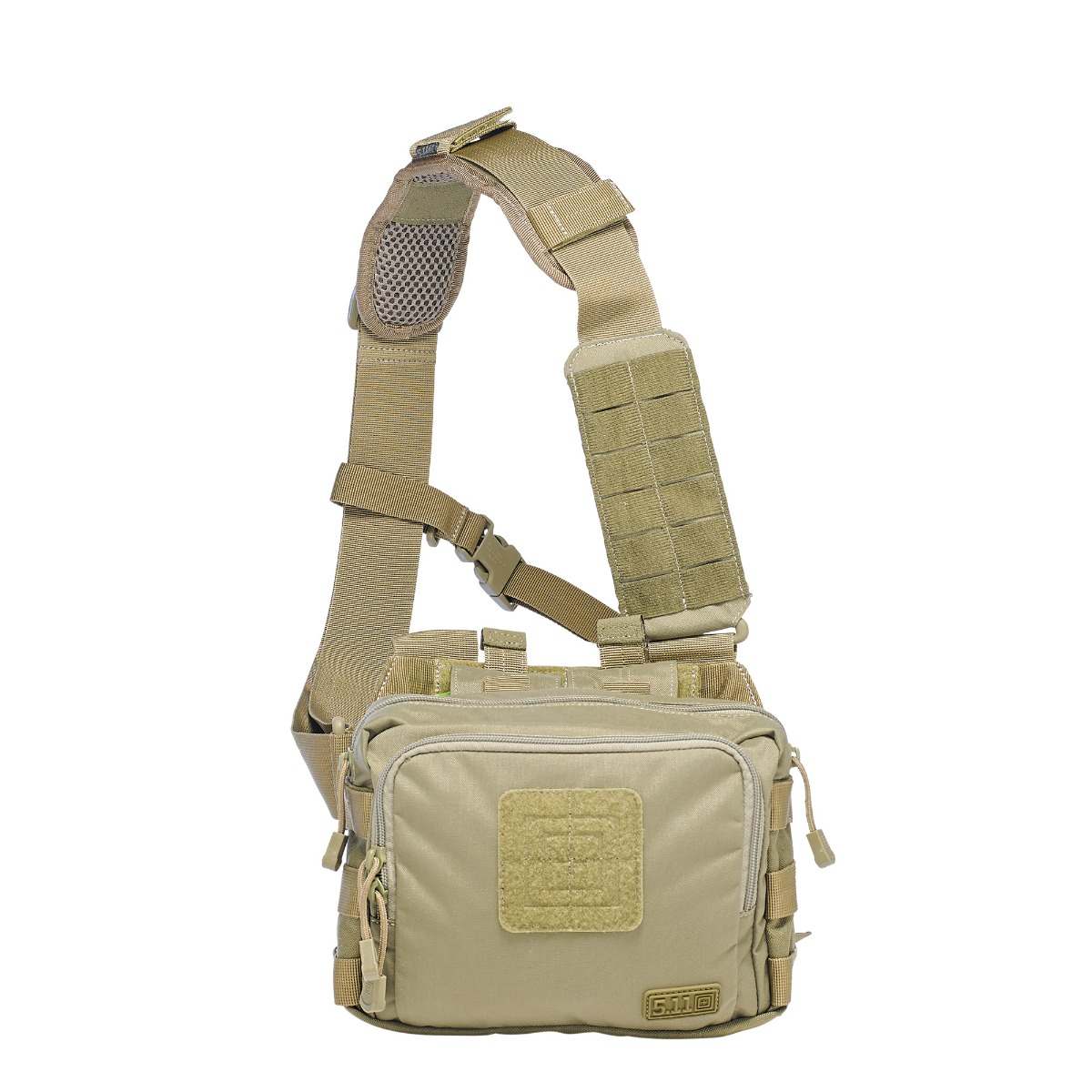 5.11 Tactical 2-Banger Bag (Khaki/Tan), (CCW Concealed Carry) thumbnail
