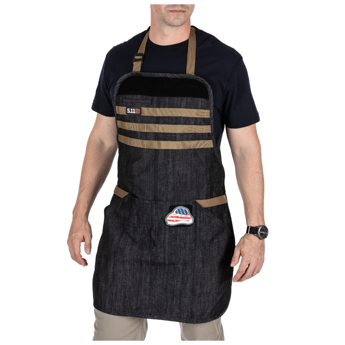 5.11 Tactical Men's Upland Denim Apron thumbnail