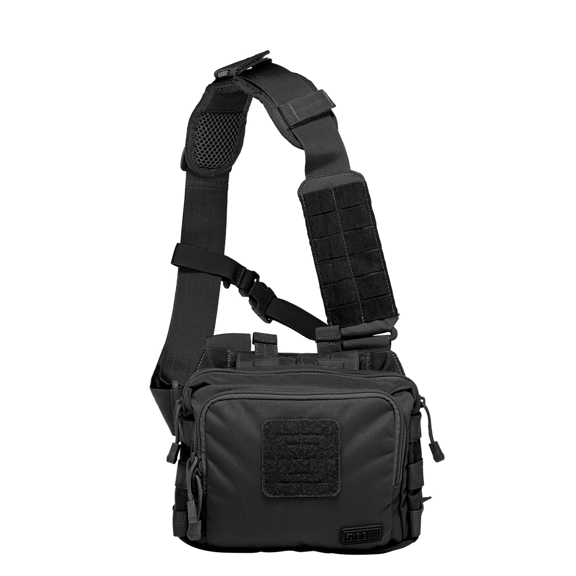 5.11 Tactical 2-Banger Bag (Black), (CCW Concealed Carry) thumbnail