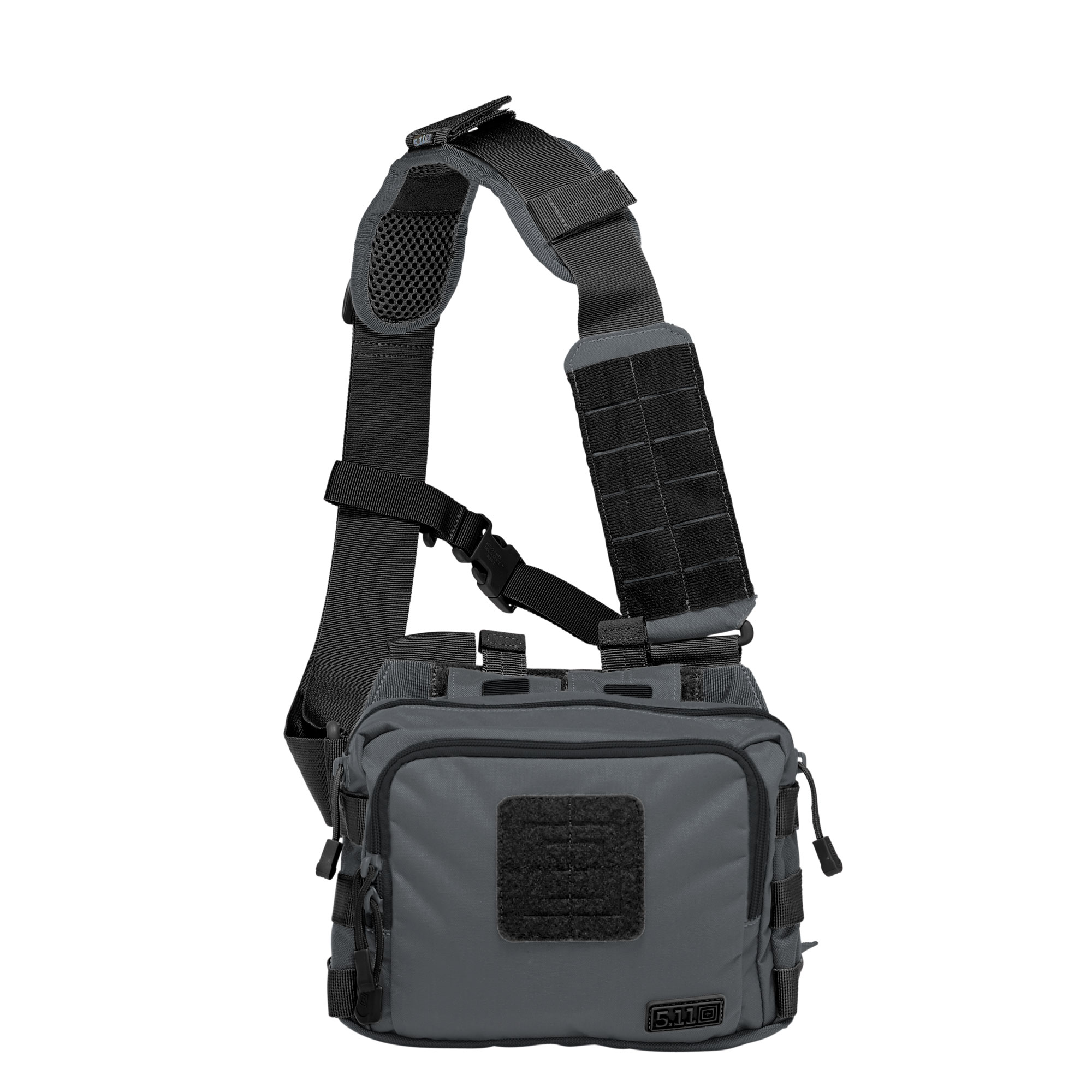 5.11 Tactical 2-Banger Bag (Black;Gray;Multi), Size 1 SZ (CCW Concealed Carry) thumbnail
