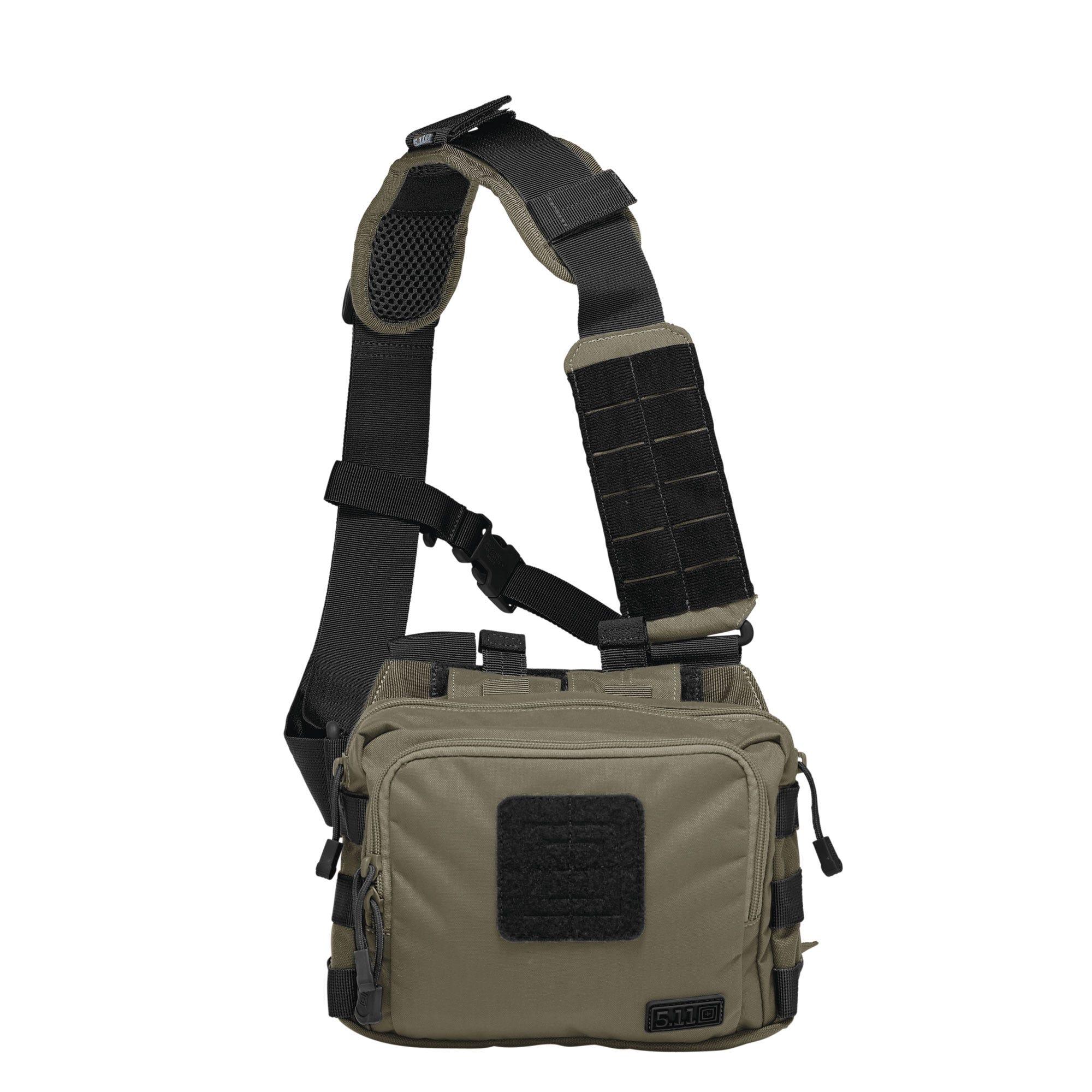 5.11 Tactical 2-Banger Bag (Khaki/Tan;Black;Green;Multi), (CCW Concealed Carry) thumbnail