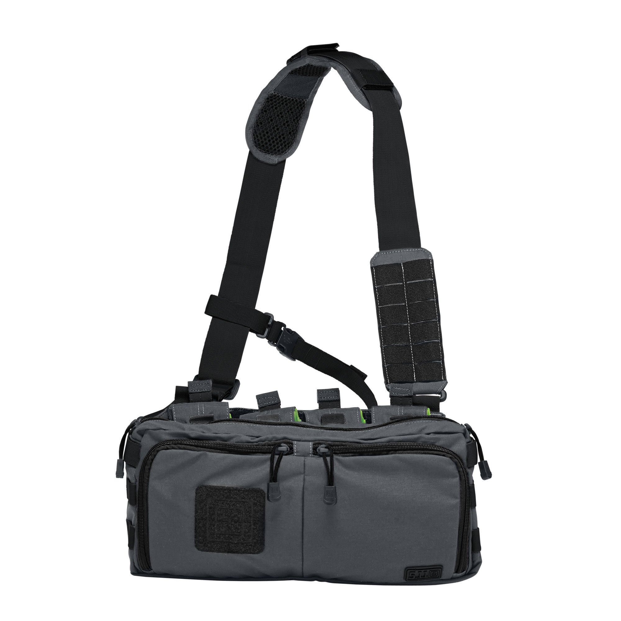 5.11 Tactical 4-Banger Bag (Black;Gray;Multi), Size 1 SZ (CCW Concealed Carry)
