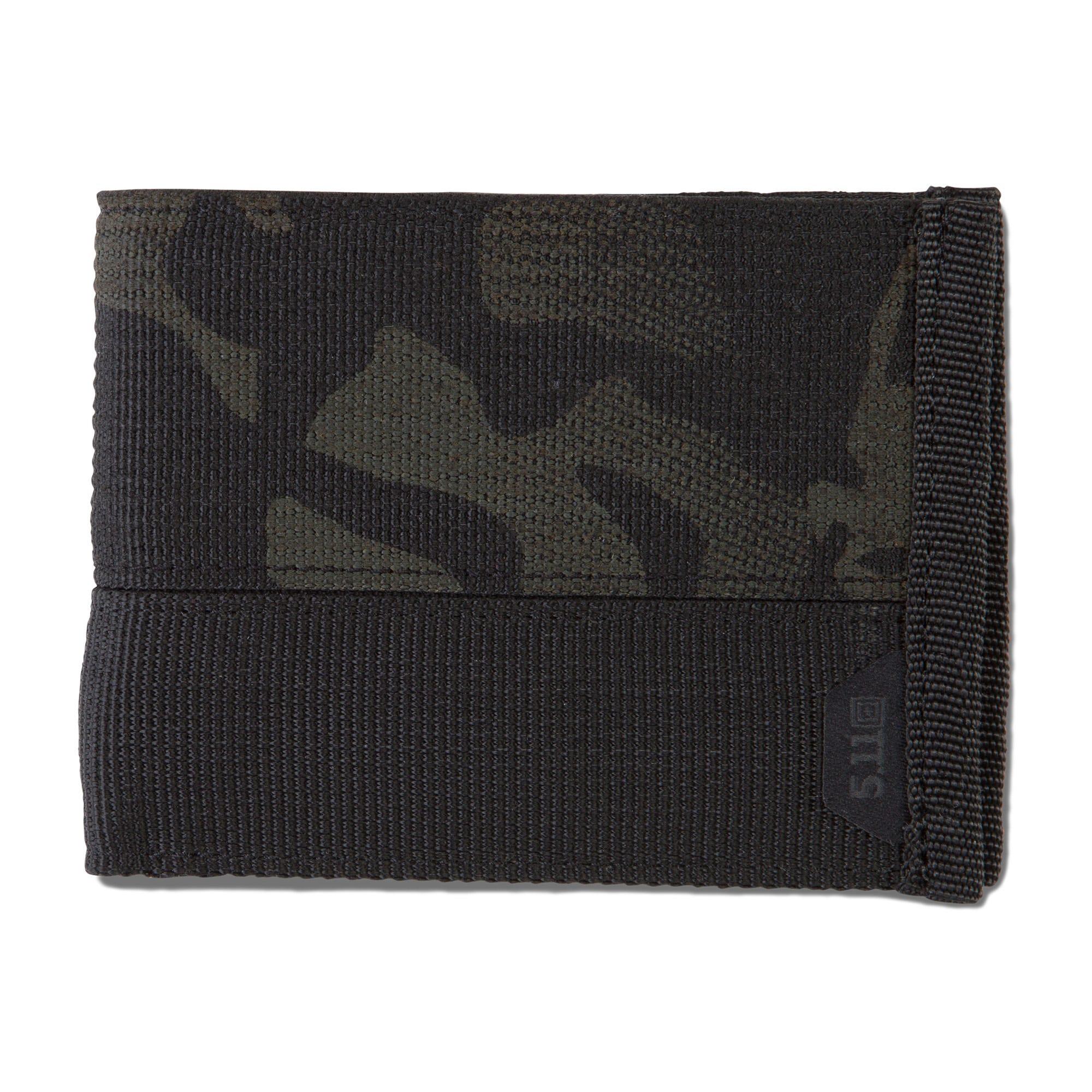 5.11 Tactical Tracker Bifold Wallet (Black)