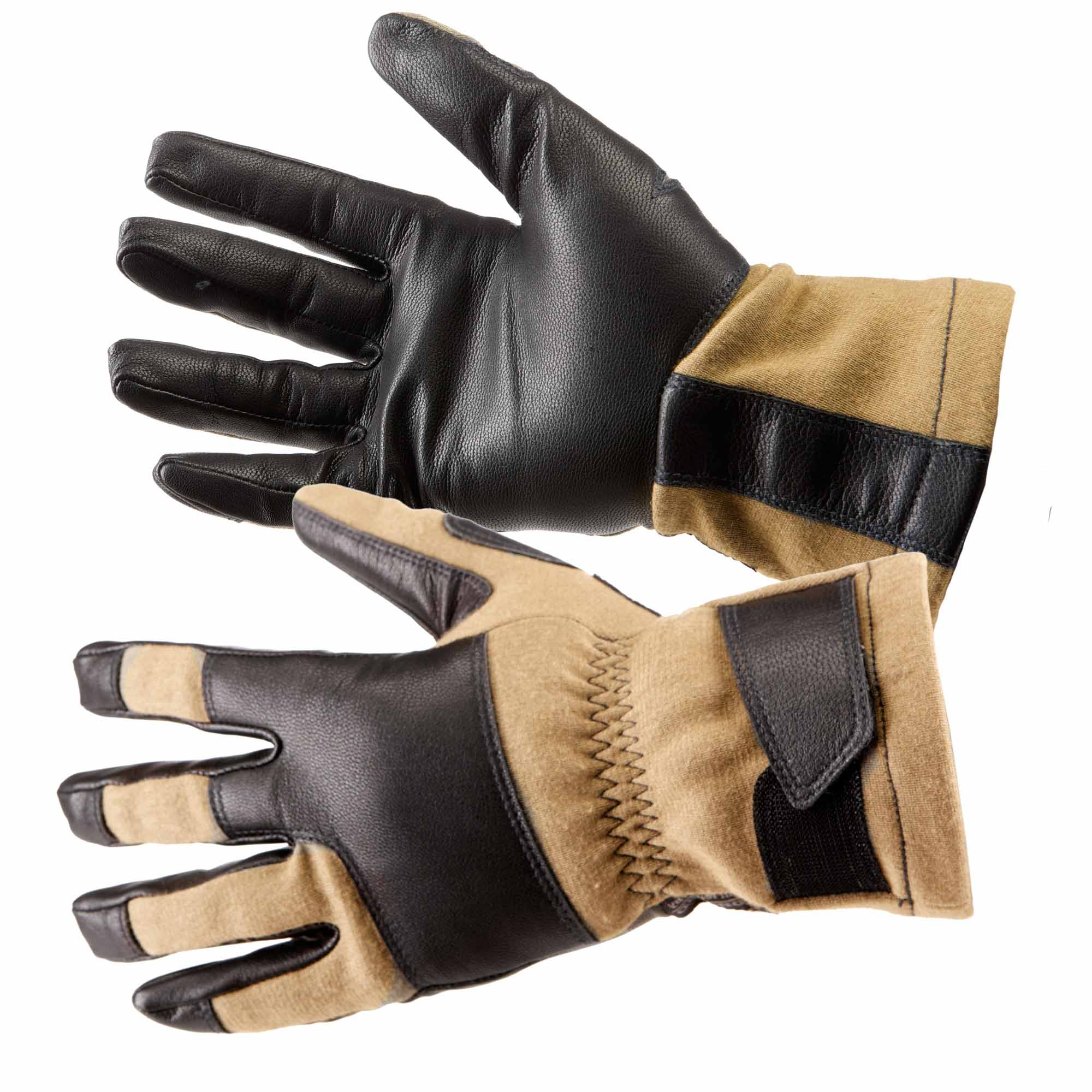 5.11 Tactical Men's Tac NFOE2 Flight Glove (Khaki/Tan)