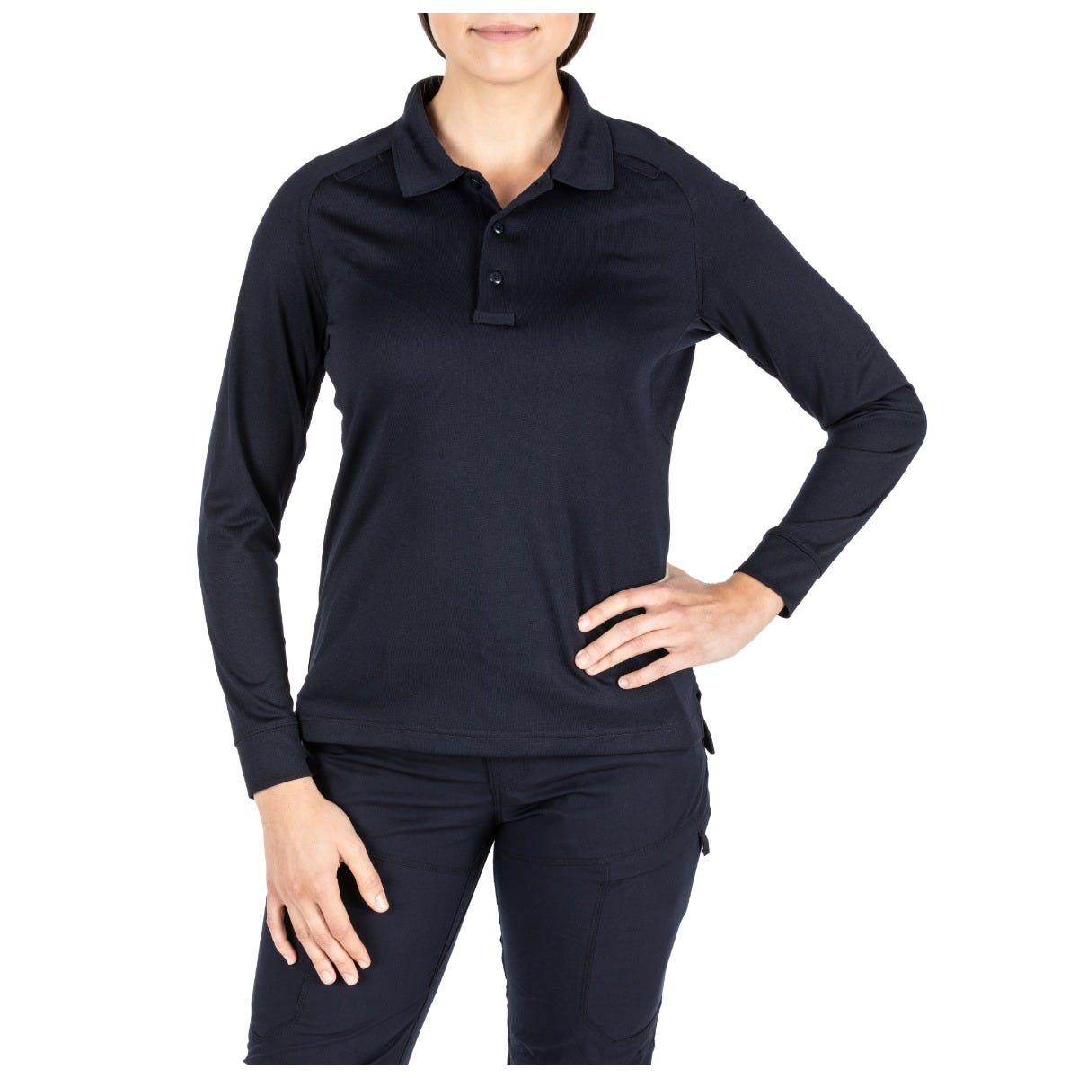 5.11 Tactical Women's Womens Performance Long Sleeve Polo Shirt