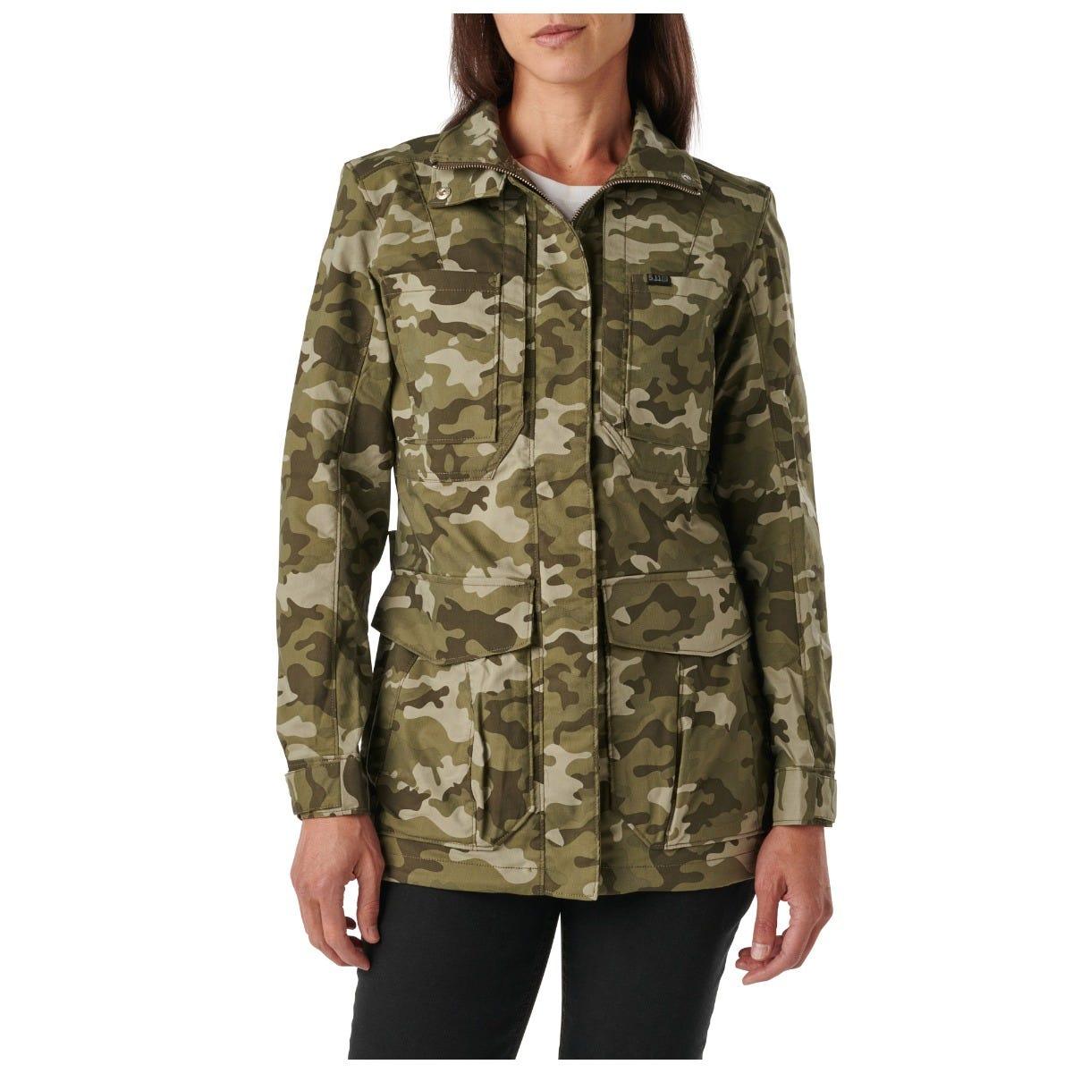 5.11 Tactical Womens Surplus Camo Jacket thumbnail