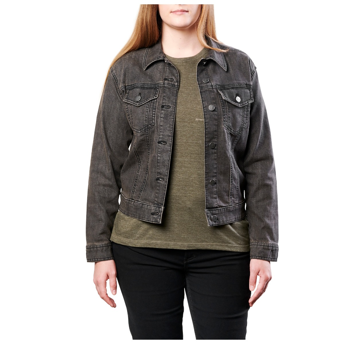 5.11 Tactical Women's Sloane Denim Jacket thumbnail